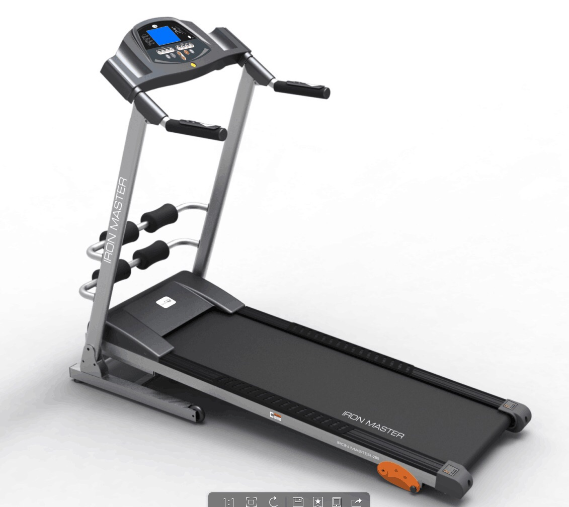 Iron master MT 280 treadmills